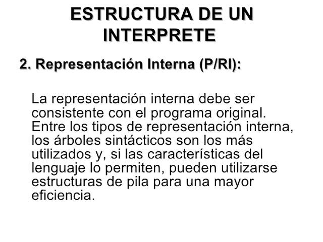2 0 Estructura De Un Interprete