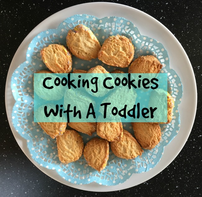 Cooking-cookies-with-a-toddler-text-over-image-of-cookies