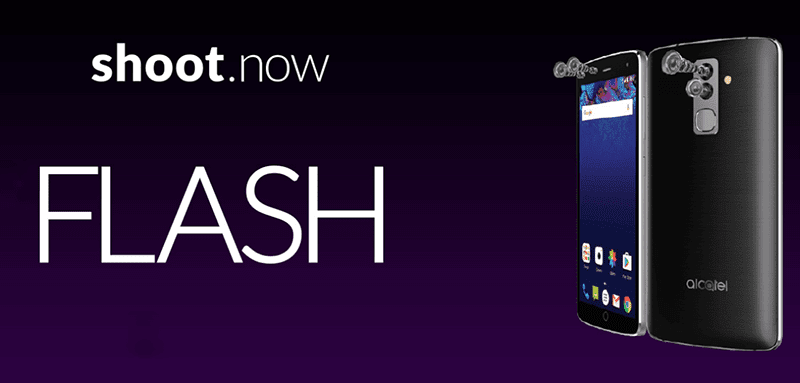 The new Alcatel Flash w/ 4 cameras!