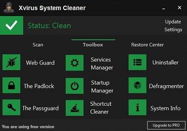 Antivirus Xvirus Personal Cleaner 3.0 Frer Registration Virus Solution Provider