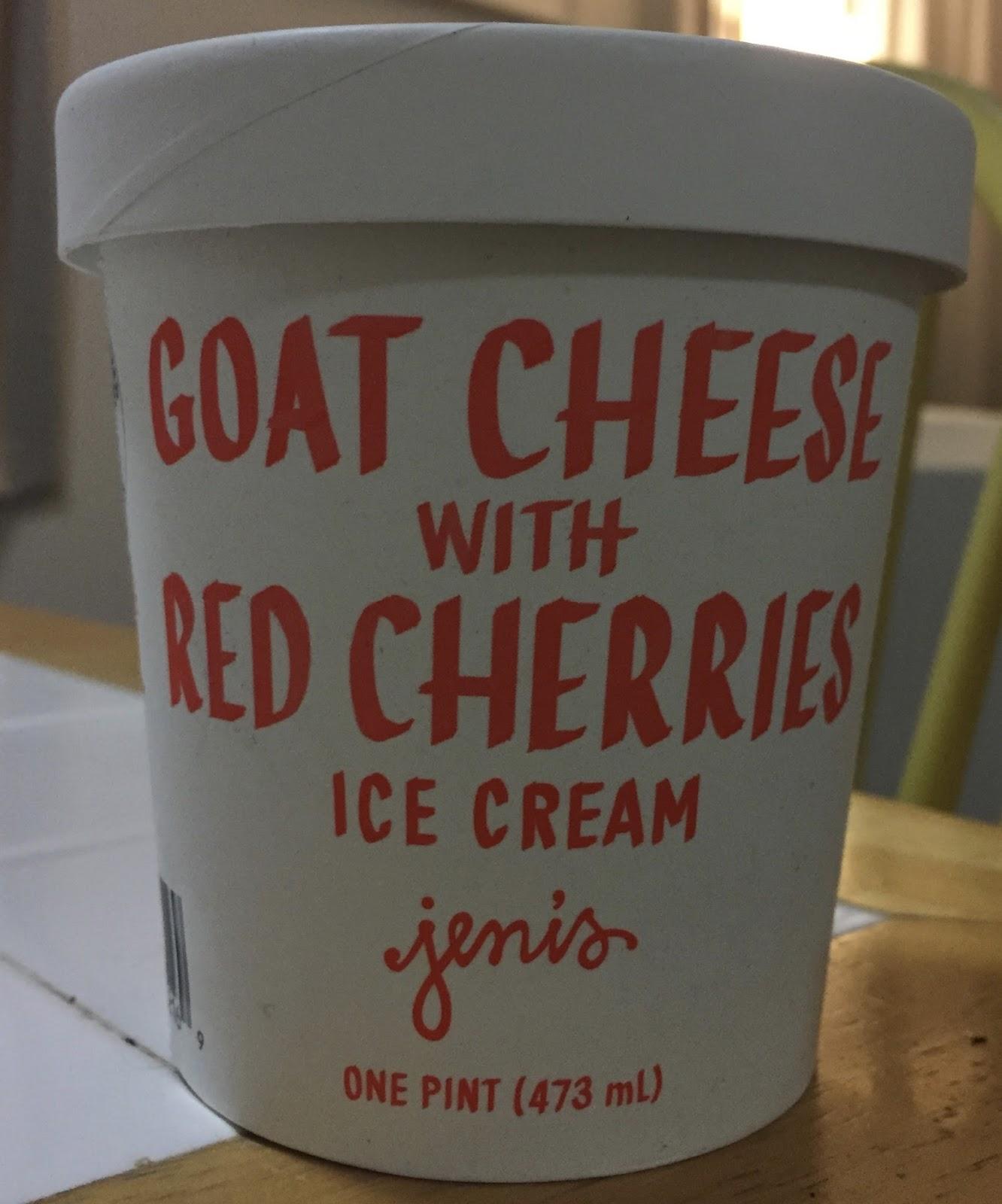 Creamery goat cheese and roasted, sweet-tart, bright-red cherries ...