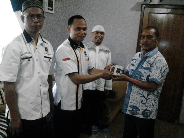 Jalin Silaturrahim, PKS Medan Kota Kunjungi Camat