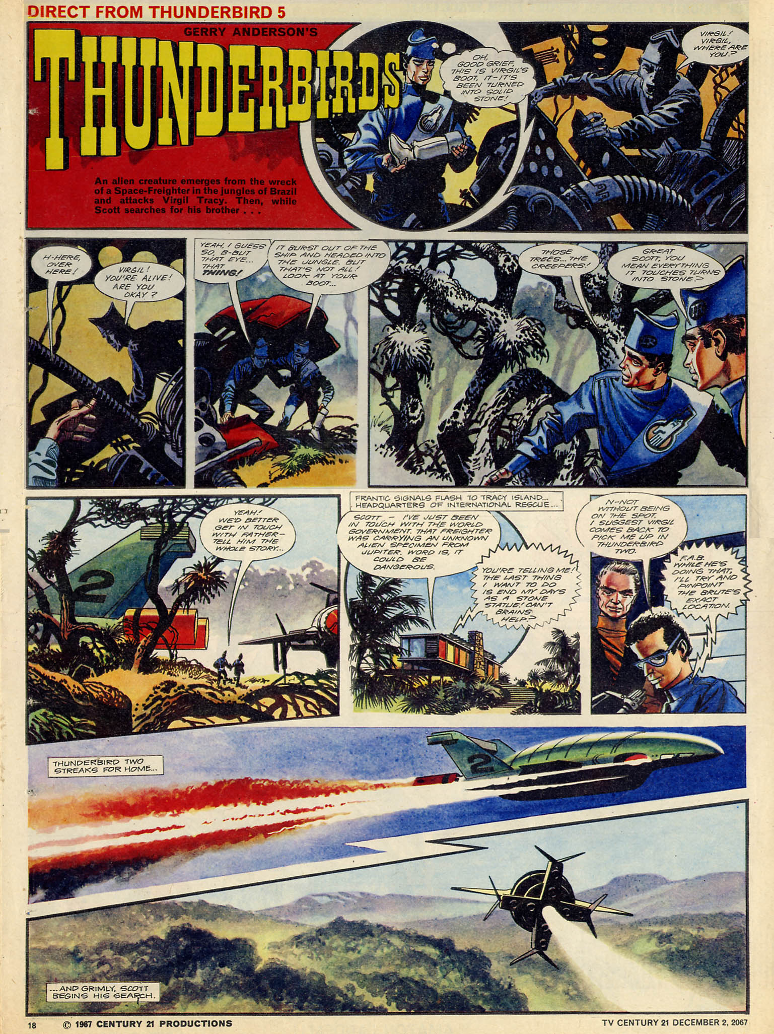Read online TV Century 21 (TV 21) comic -  Issue #150 - 17