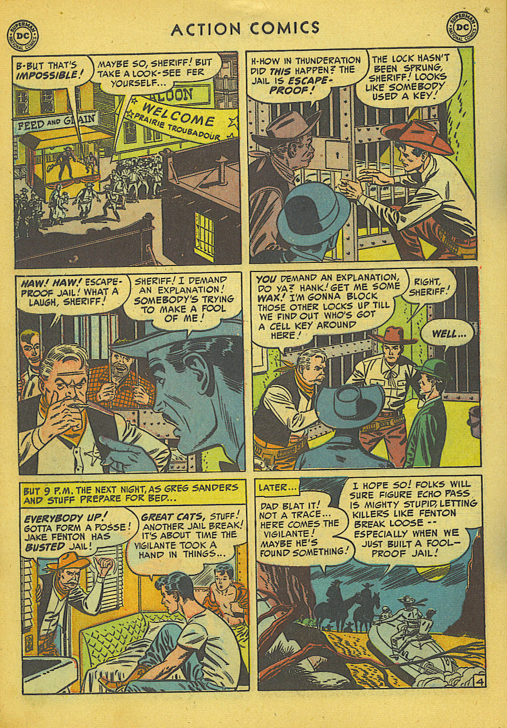 Read online Action Comics (1938) comic -  Issue #157 - 34
