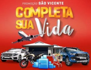 Cadastrar Promoção São Vicente Supermercados 2016 2017 Completa Sua Vida