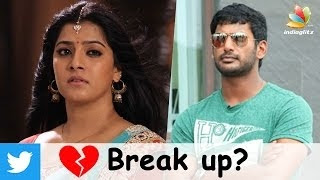 Varalakshmi Sarathkumar breaks up with Vishal? | Hot Tamil Cinema News
