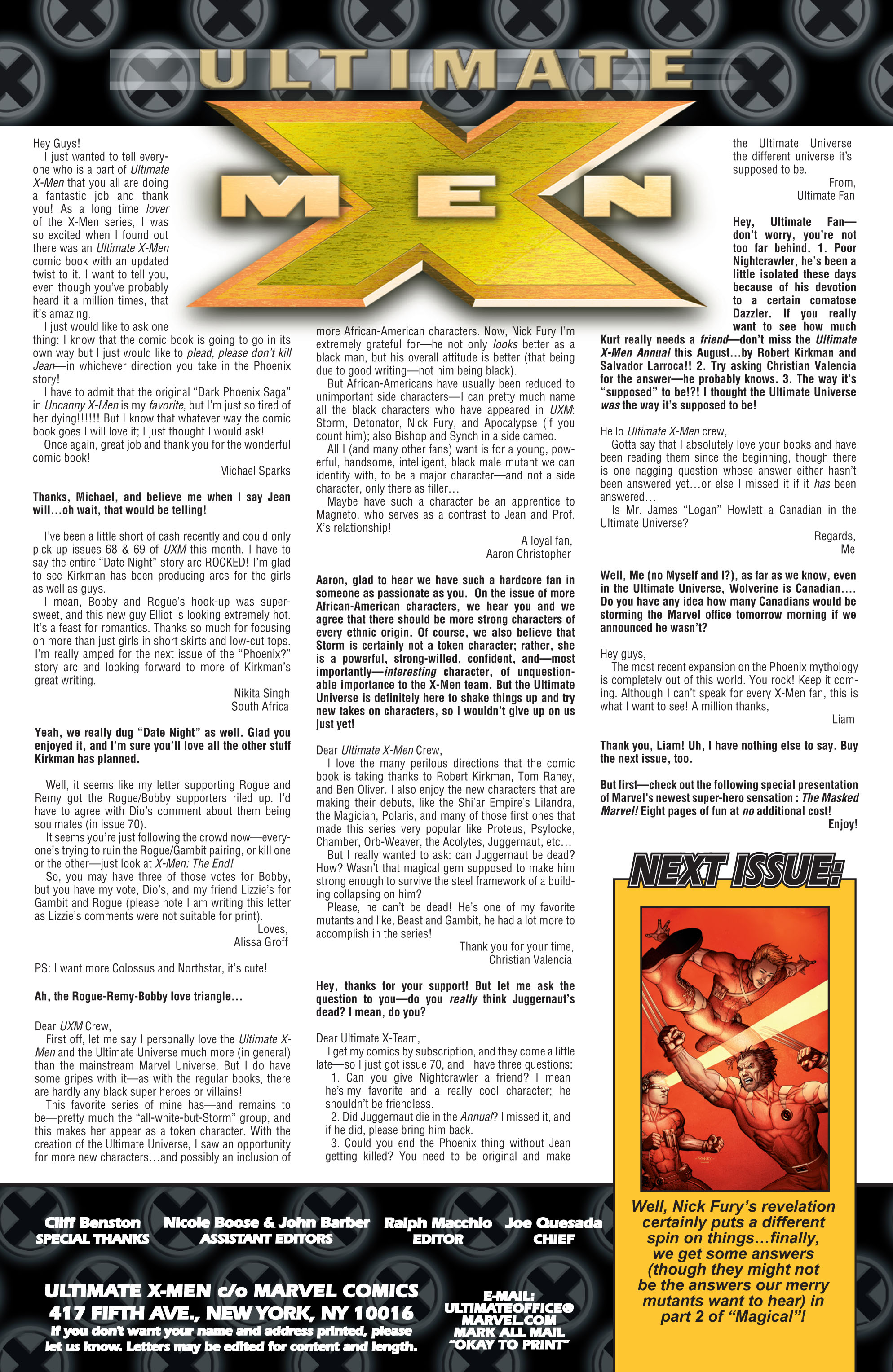 Read online Ultimate X-Men comic -  Issue #72 - 23