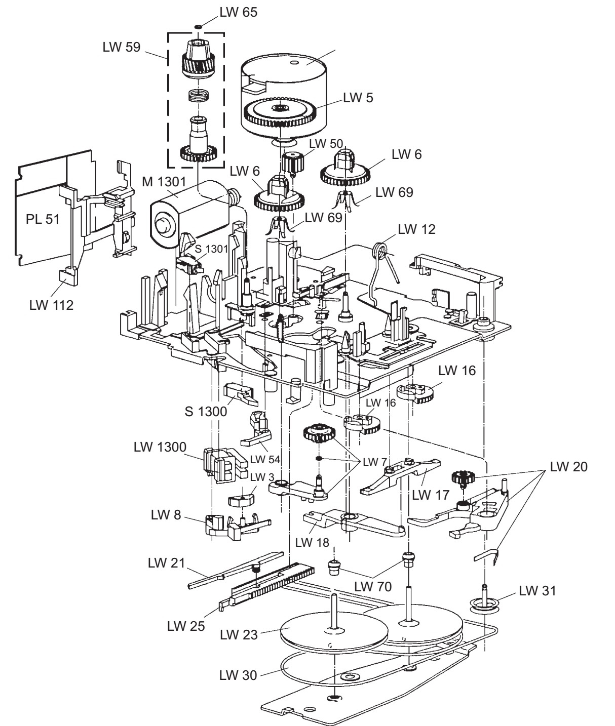 Blaupunkt Auto Radio Exploded View Circuit Diagram