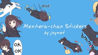 Menhera Stickers by joynet | LINE | PNG | 164 Stickers MEGA