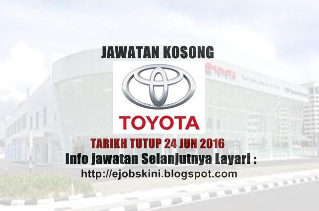 Jawatan Kosong UMW Toyota Motor Sdn Bhd