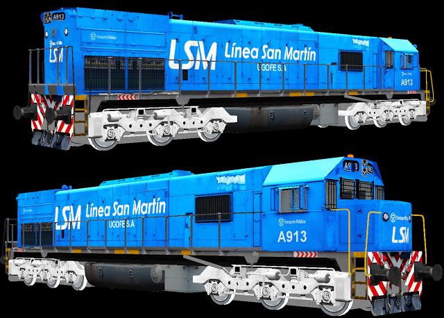 Msts Argentina Locomotoras Diesel