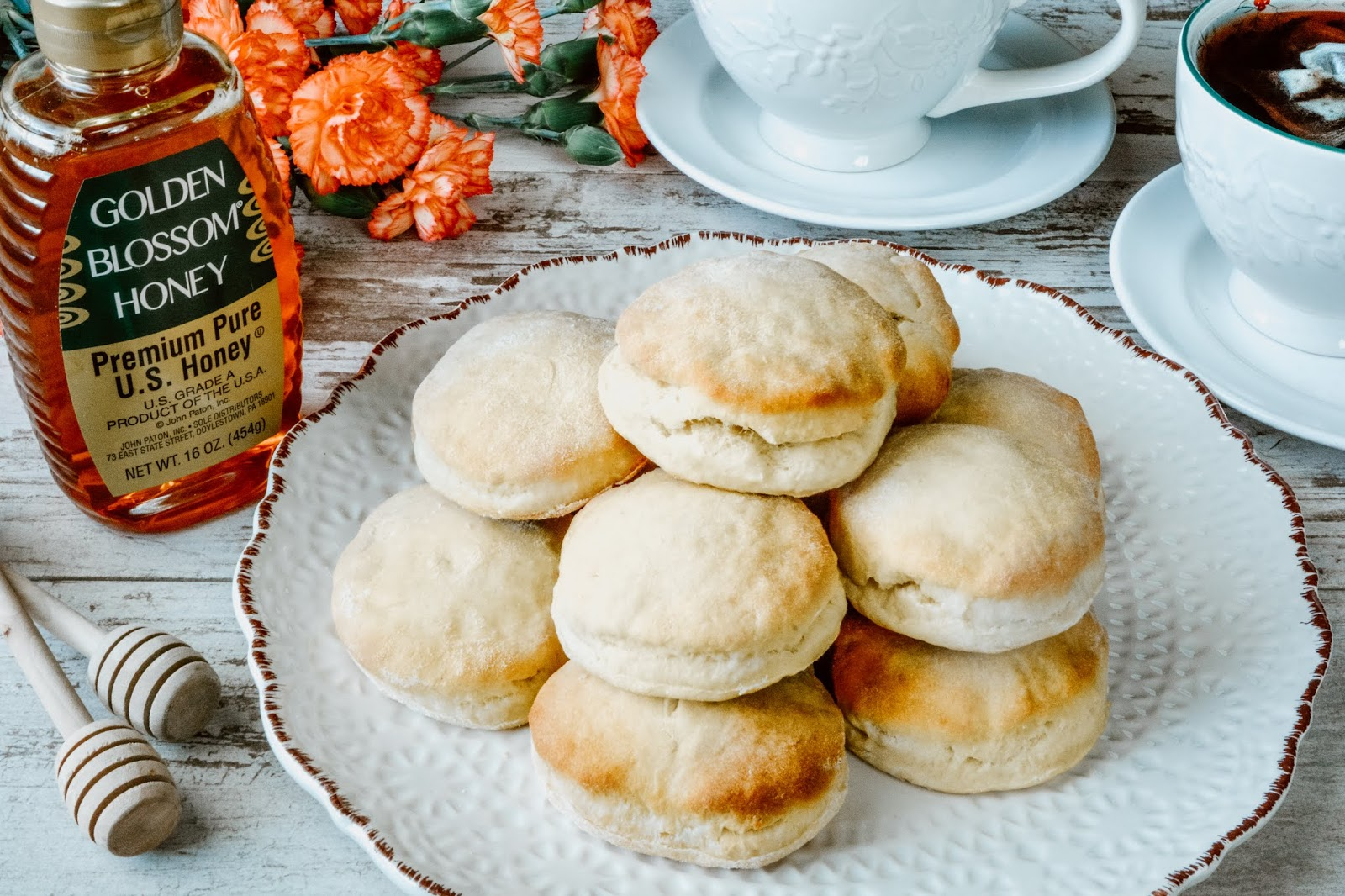 Golden Buttermilk Biscuits