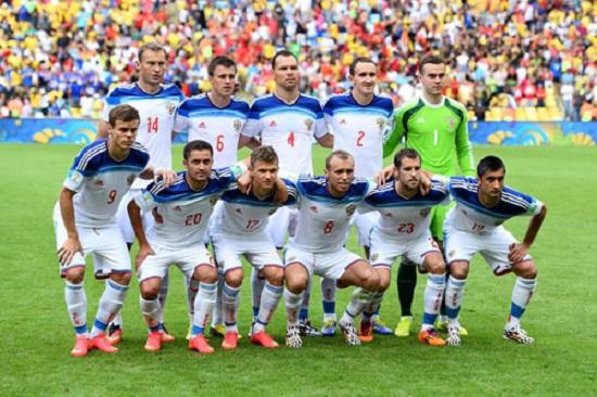 Tuyển Nga bị loại khỏi World Cup 2014 từ vòng bảng.