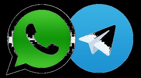 Motivos para usar o Telegram ao invés do WhatsApp