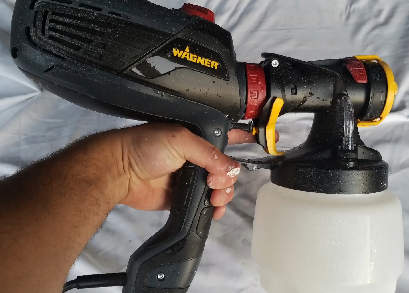 Tool review zone wagner flexio 2000 hplv spray gun review for Hplv paint sprayer