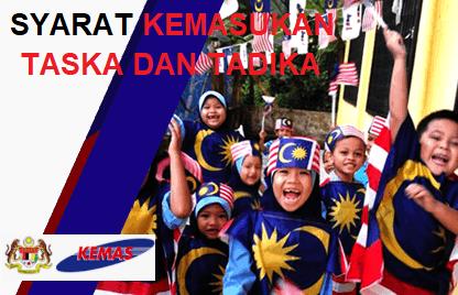 Permohonan Dan Syarat Kemasukan Ke Taska Dan Tadika Permata Kemas Tadika Kerajaan 2020 2021 Mypendidikanmalaysia Com