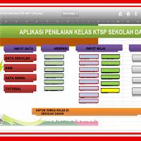 Aplikasi Raport UTS KTSP  Format Xlsm dan Kurikulum 2013 Format Xlsx
