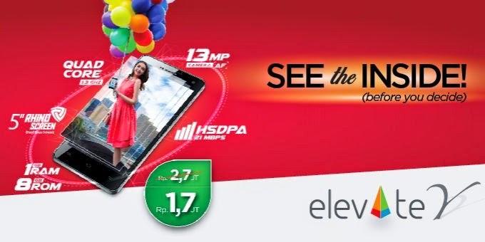 Evercoss Elevate Y A66A Kamera 13MP Harga 1 Jutaan