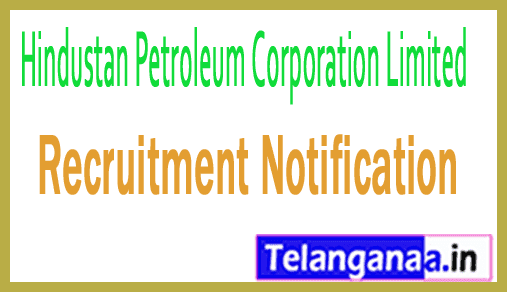 Hindustan Petroleum Corporation Limited HPCL Recruitment Notification