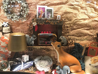 Squirrels, hedgehog and foxes make toast in warm Christmas burrow scene