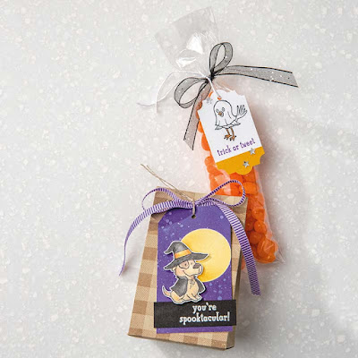 Stampin' Up! Trick or Tweet ~ 2018 Holiday Catalog ~ 9 Halloween Sweet Treat Ideas