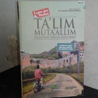 Jual Buku Terjemah TA'LIM MUTA'ALLIM