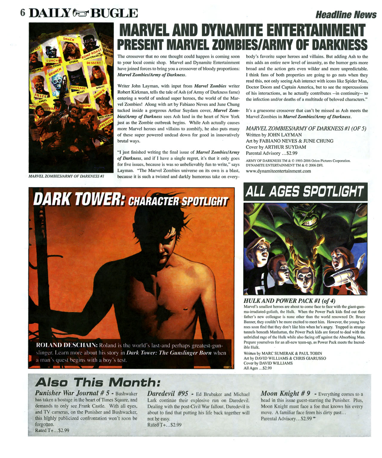 Read online Daily Bugle (2006) comic -  Issue #6 - 7