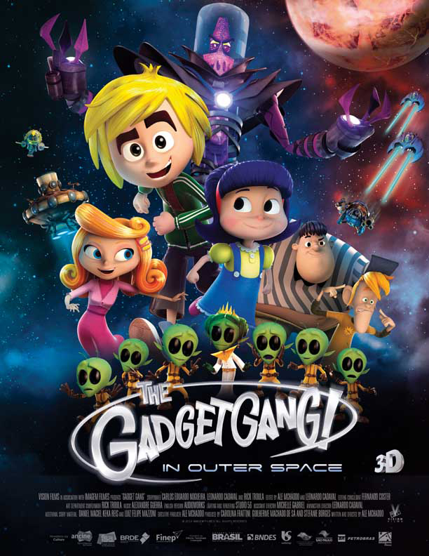 Watch Online GadgetGang in Outer Space 2017 720P HD x264 Free Download Via High Speed One Click Direct Single Links At WorldFree4u.Com