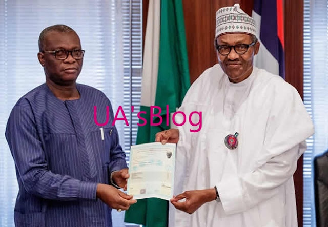 PHOTOS: Buhari Gets WAEC Certificate