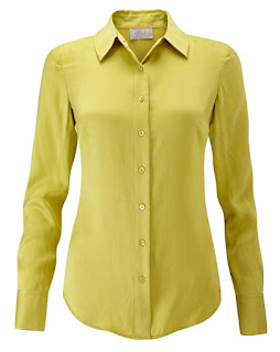 A smart silk blouse can either go under a jacket at work or be worm with jeans at the weekend. It will always look immaculate