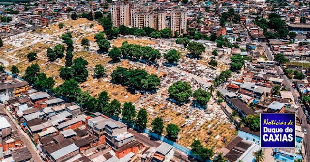 Duque de Caxias interdita cemitérios por falta de alvará