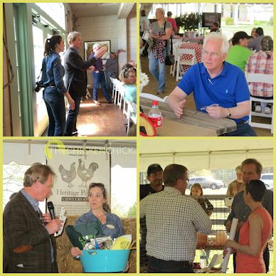 P Allen Smith's Poultry Workshop in Little Rock Arkansas April 2014