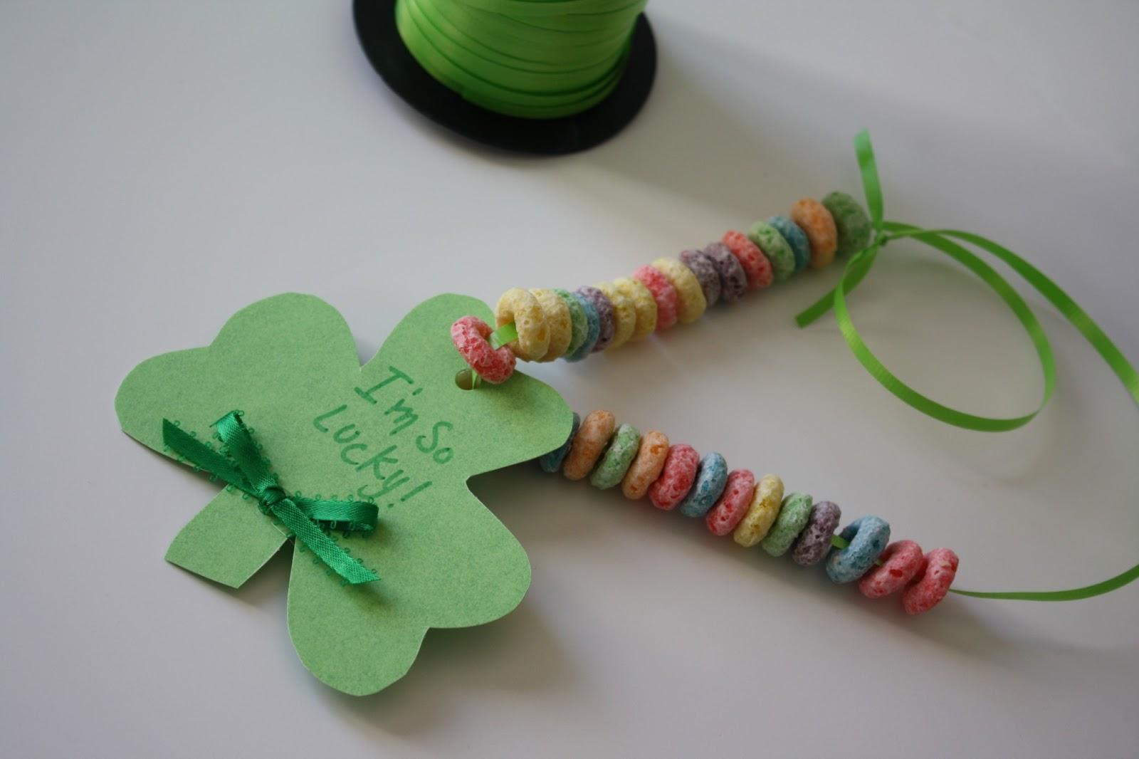 Quick Shamrock Toddler Craft