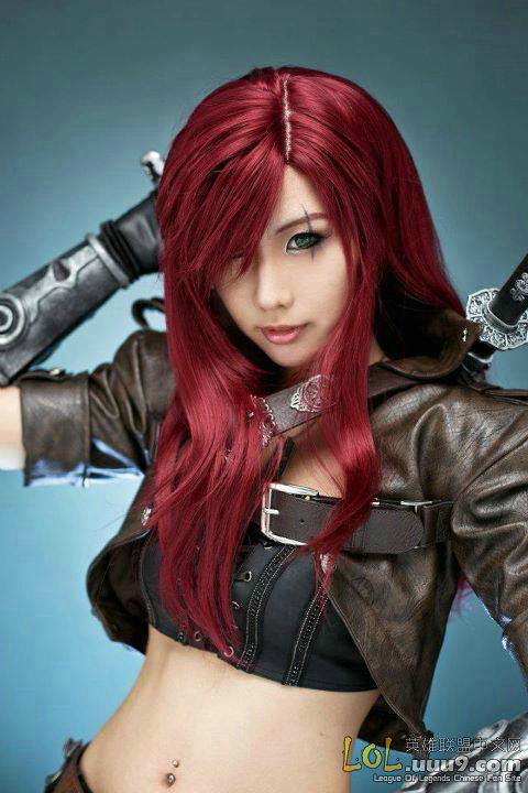 Global gameguyz: Lol Katarina Cosplay vs Guild Wars Cosplay