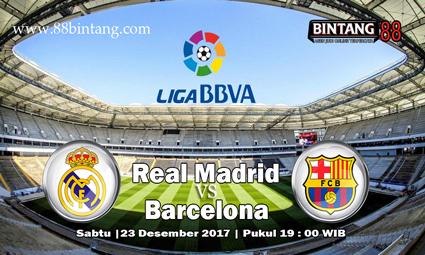 Prediksi Real Madrid vs Barcelona 23 Desember 2017