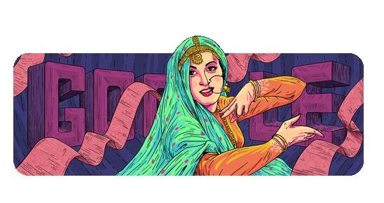 Google Celebrates Madhubala's 86th Birthday With A Doodle