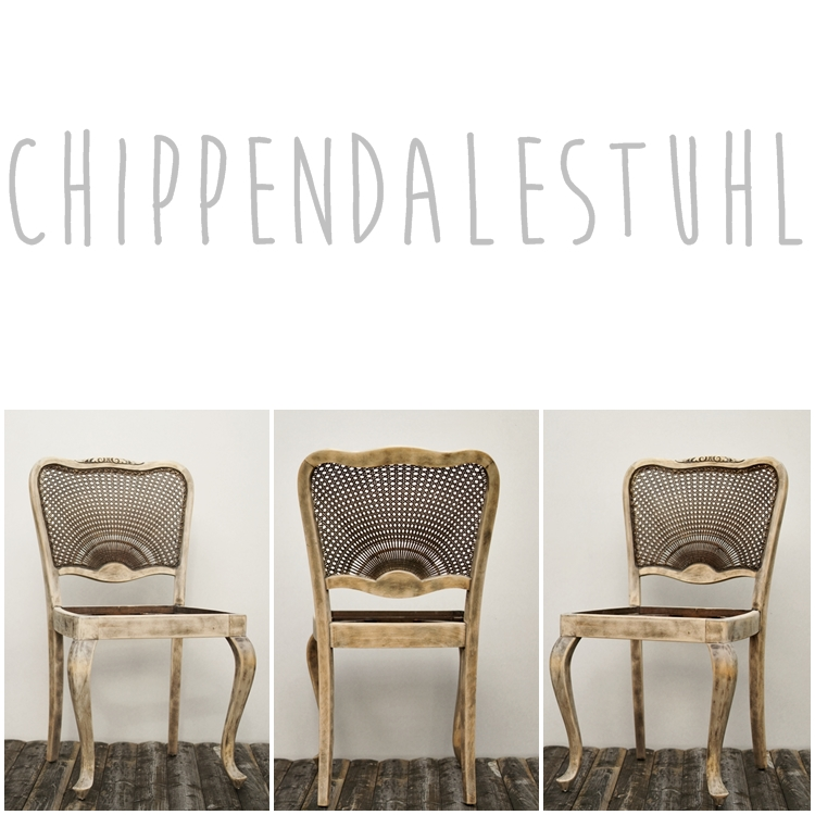 Chippendalestuhl { by it's me! }