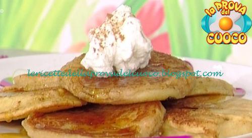Ricetta dei Pancakes alle mele da La Prova del Cuoco