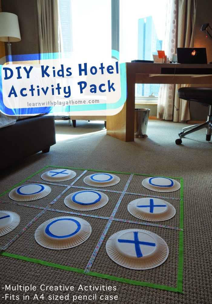 Learn with play at home diy kids hotel activity pack for Fun projects for kids to do at home