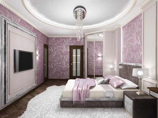 . home color idea  Modern Purple Bedroom ideas 2019