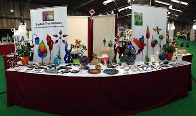 Baobab Tree Mosaics craft fair stand