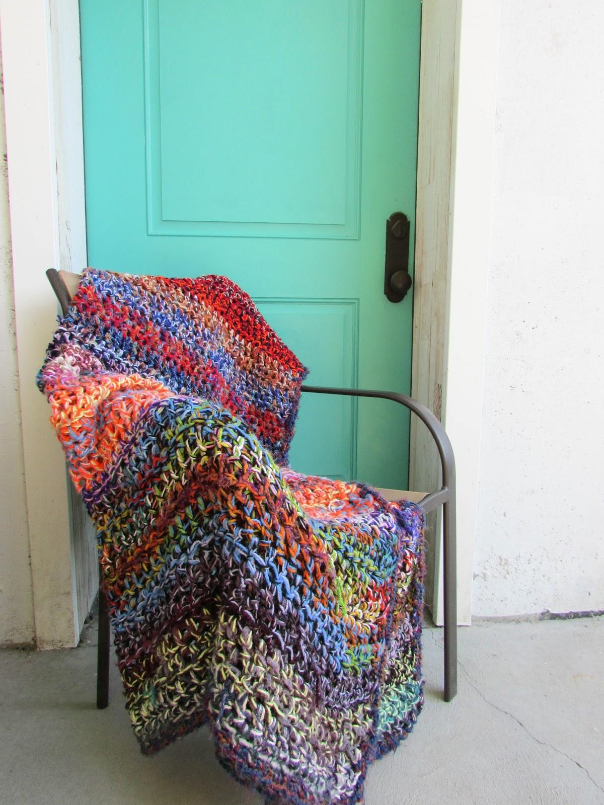 A Lively Hope Stash Busting Crochet Afghan