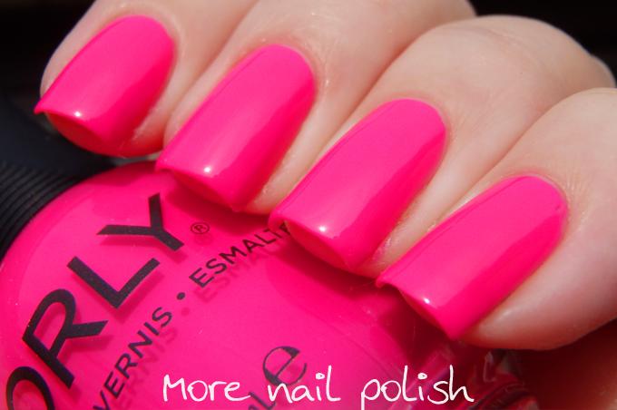 Orly Neon Heat Hot Pink Fuchsia Neon Summer Bright Baked Nail Polish 20495 Ebay