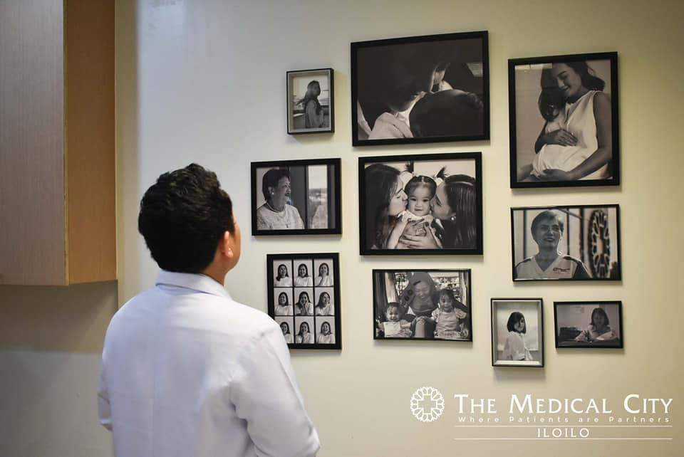 Portraits of empowered modern women highlights TMC Iloilo's Women's Health Center.