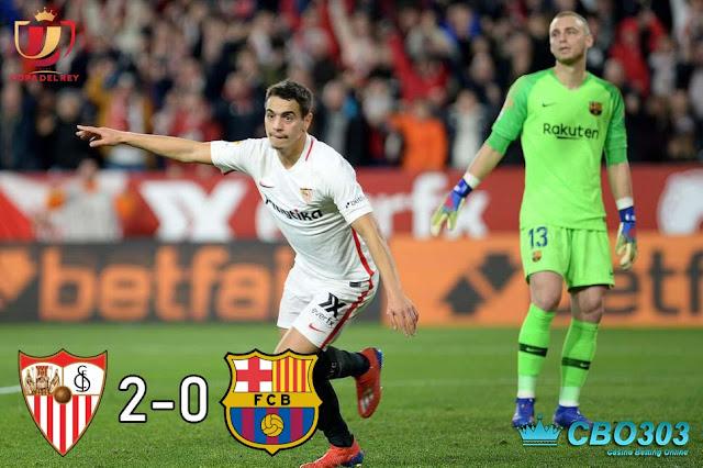Video Highlights dan Cuplikan Gol Sevilla vs Barcelona