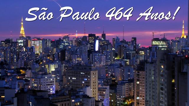 Aniversário de São Paulo! (Programação)