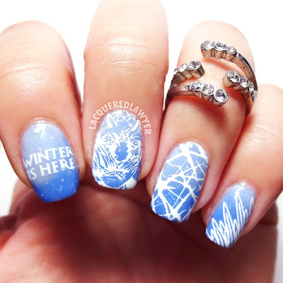 White Walker Nail Art
