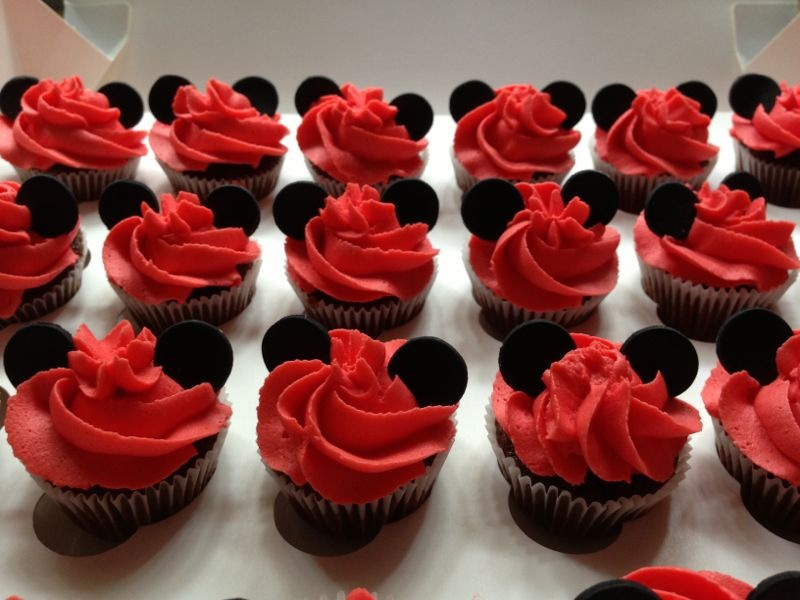 Galletas Mickey Decoradas Con Fondant