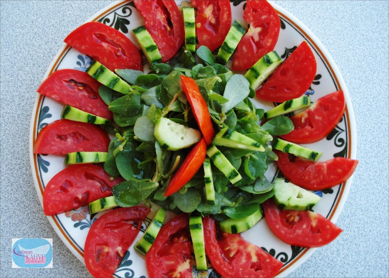 Ekşili Semizotu Salatası Tarifi
