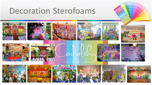 Dekorasi Styrofoam, EO Ulang Tahun Anak (Kids Birthday Party Organizer), Birthday Party Planner